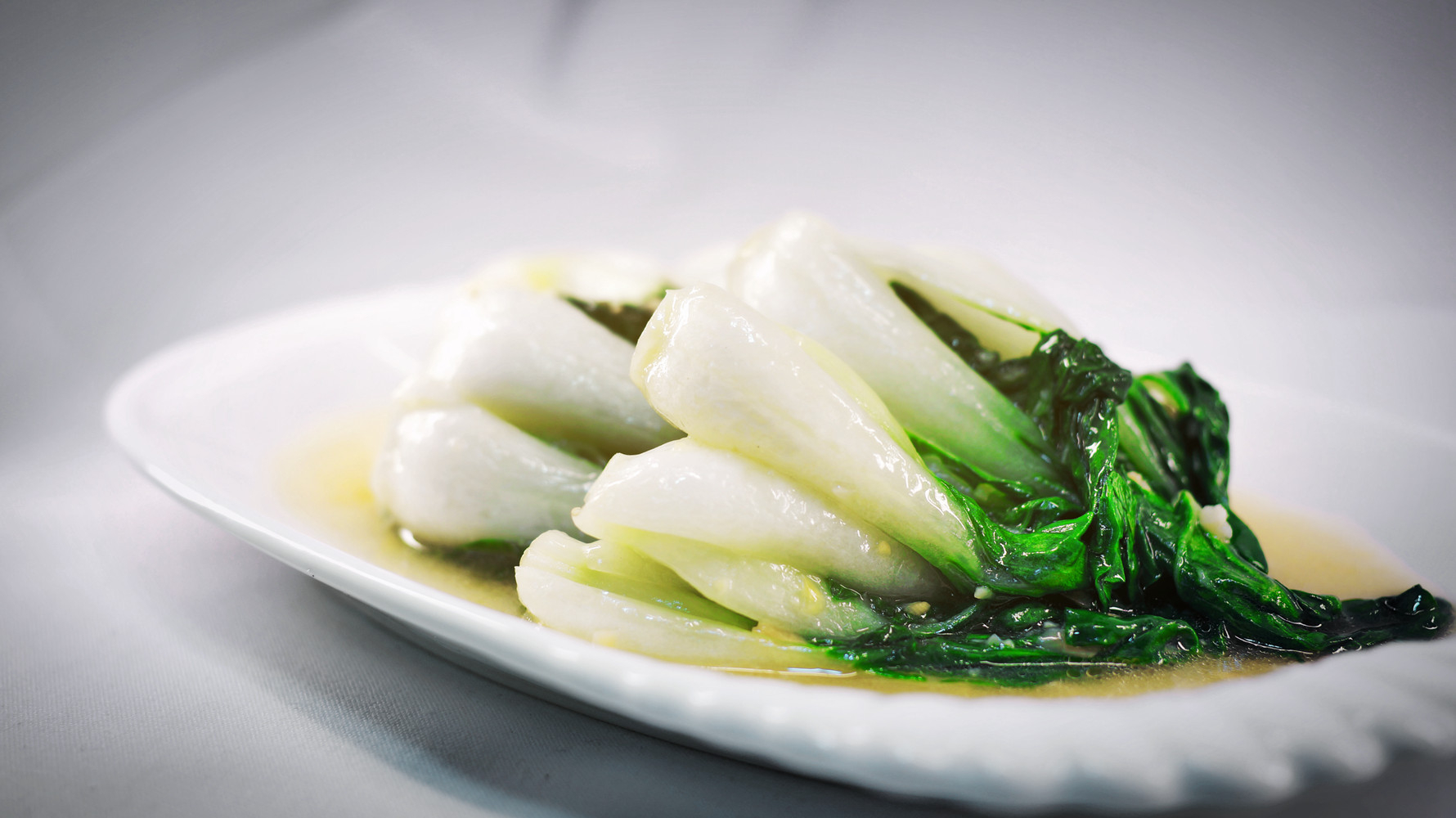 Pak Choi with Garlic from Chinese Restaurant in Gosforth NE3 Newcastle upon Tyne
